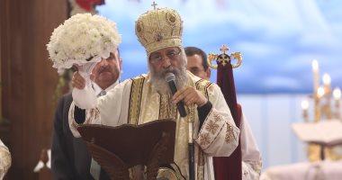 البابا تواضروس يشكر السيسي على زيارته لقداس عيد الميلاد