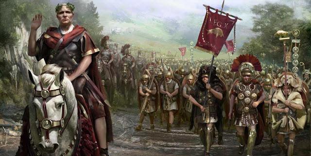 Cayo Julio Cesar y las guerra de las Galias