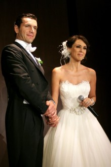Fotos de la boda de Jacqueline Bracamontes Martin Fuentes ...