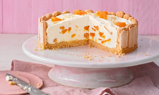 style rezepte philadelphia torte mit mandarinen und