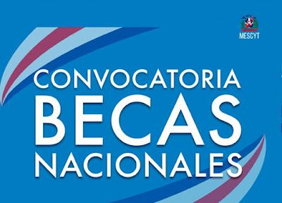 Convocatoria a Becas Nacionales 2019