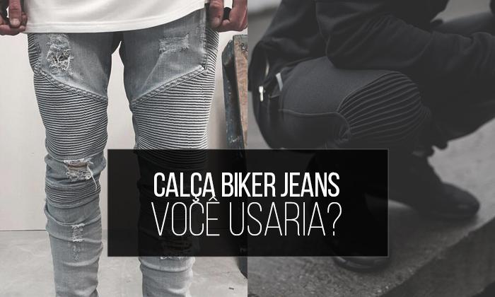 814ff144c Biker Jacket, Biker Jeans, o que está acontecendo Coloral? haha Calma,  calma, já vou explicar. A Jaqueta de couro Biker é um modelo que está muito  em alta ...
