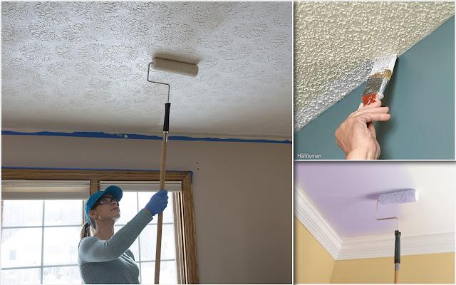 Tips Mengecat Plafon Sendiri di Rumah