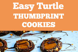 Turtle Thumbprint Cookies Recipe