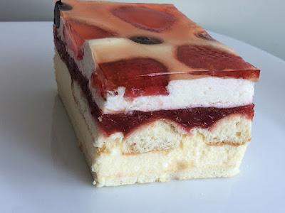 Ciasto na zimno z kremem budyniowym