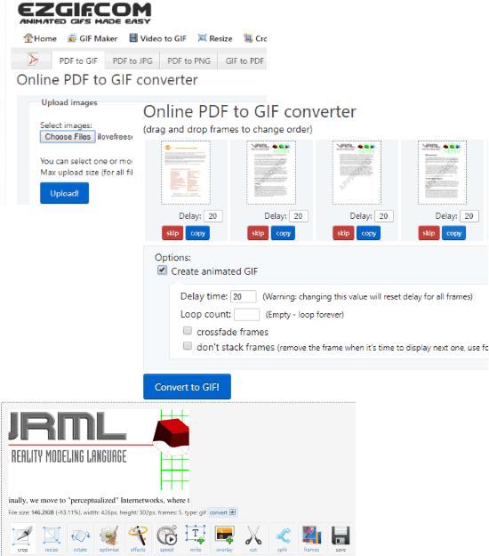 situs web gratis untuk mengubah PDF menjadi GIF animasi Cara Mengubah PDF Menjadi GIF Animasi