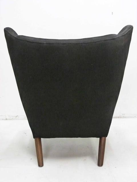 Hans J. Wegner AP-19 Papa Bear Chair & Ottoman by AP Stolen, Denmark 5