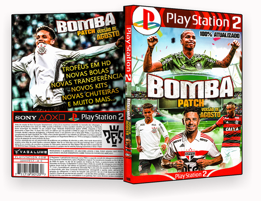 CAPA – Bomba Patch Versão Agosto PS2