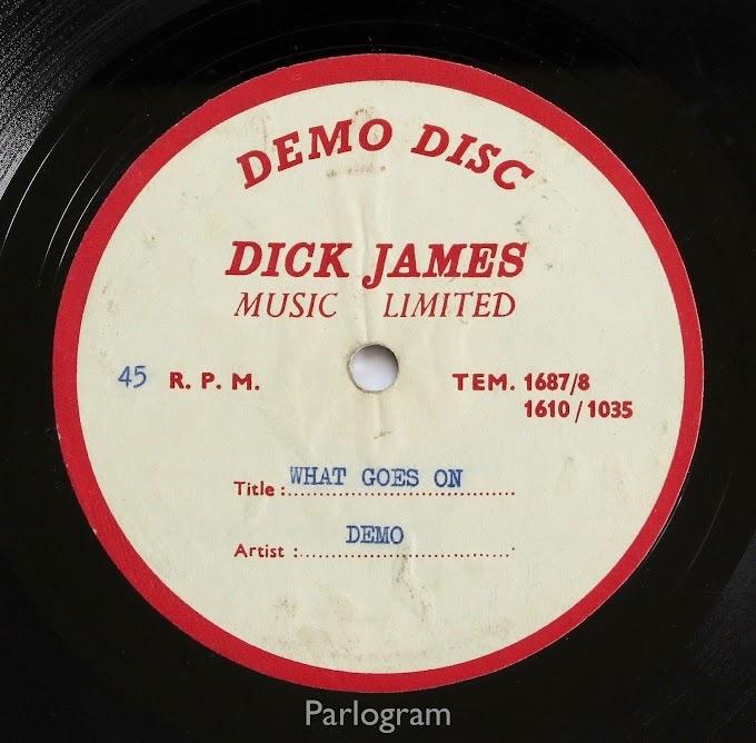 ジョン・レノンが歌う「What Goes On」を収めたレコードが約154万円で落札される
