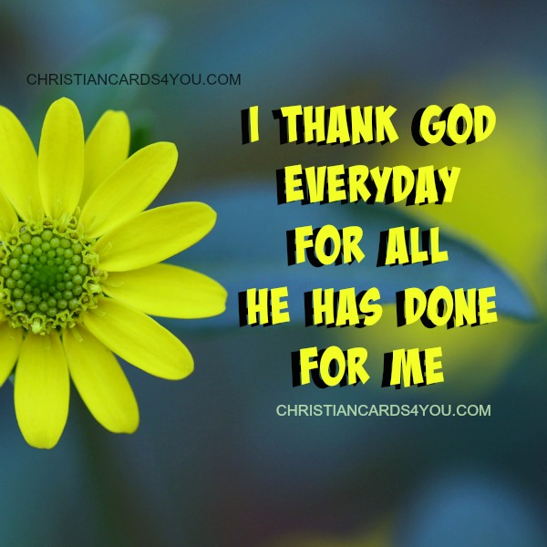 Free christian thank you God card, Free quotes for my fb, be grateful