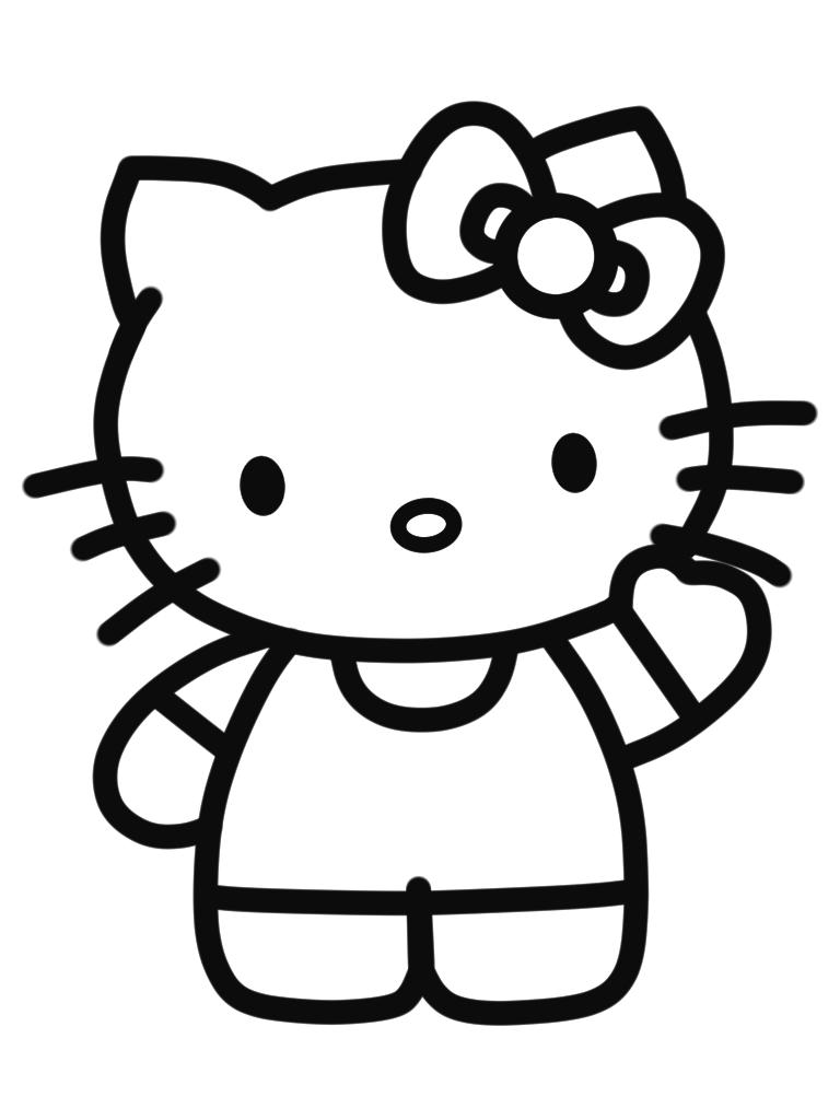 Cara Menggambar Hello Kitty Dengan Mudah 9komik