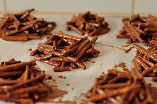 Пасхальные шоколадные гнездышки