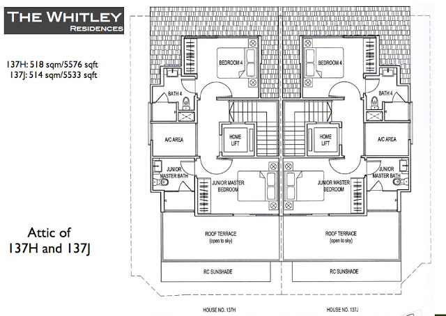 Whitley Residences Floor Plan2
