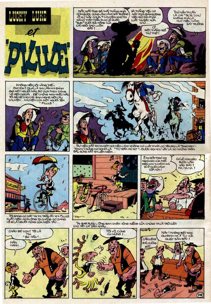 Lucky Luke tập 25 - nhện chân dài trang 38