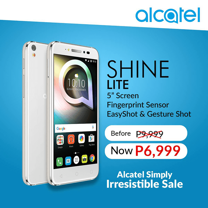Alcatel Shine Lite Is Now More Affordable At PHP 6999