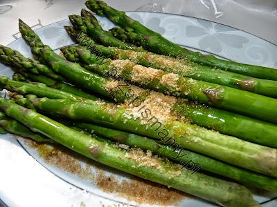 Szparagi gotowane