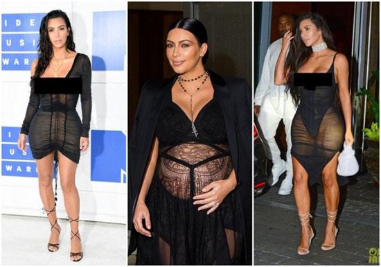 Kim Kardashian Hot Seksi Telanjang