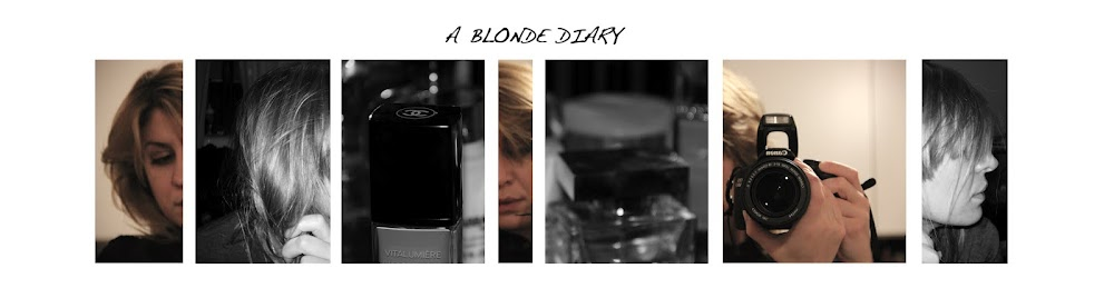 a blonde diary