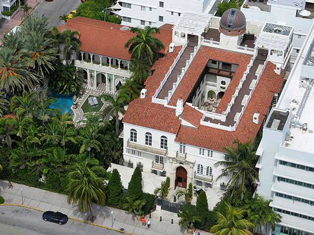 Versace Mansion In South Beach Miami Florida