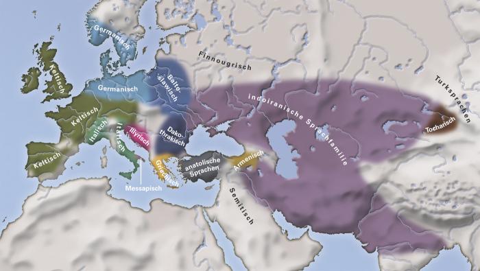 Europa um das Jahr 50 v. Chr. (ohne Balto-Slawen)