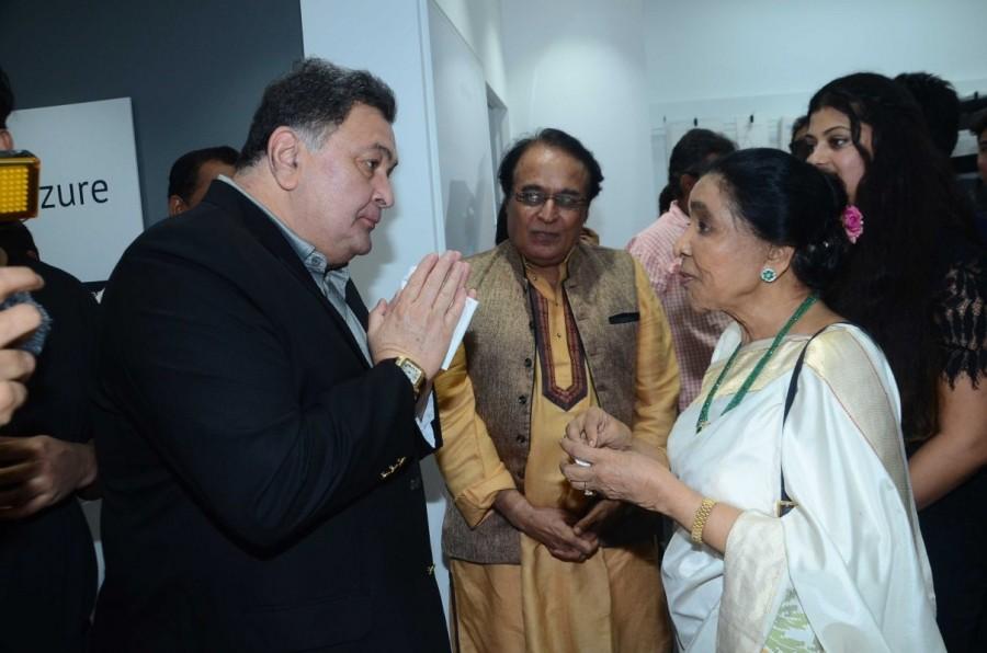 Asha Bhosle, Rishi Kapoor and Shankar Mahadevan Inaugurate Mobile Store
