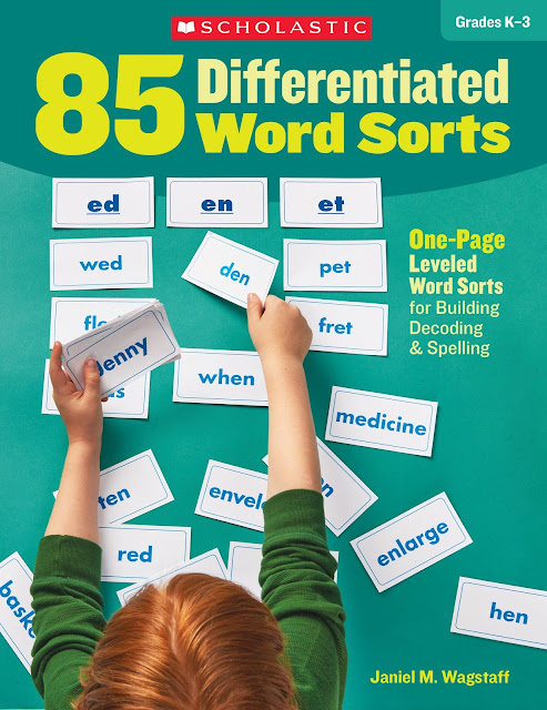 Make the Most of Word Sorts!  This blog post has 3 Best Tips for making word sorting more productive:  Make sure students actually read the words before sorting, hold them accountable for their work, and differentiate one page word sorts to meet the needs of different groups!