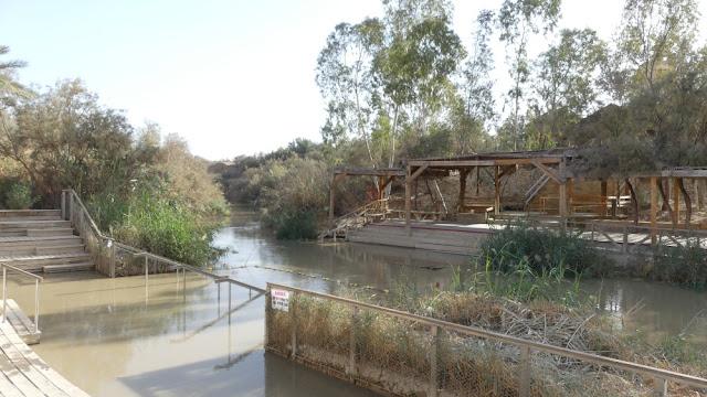 Qasr El Yahud - die Taufstelle von Jesus am Jordan