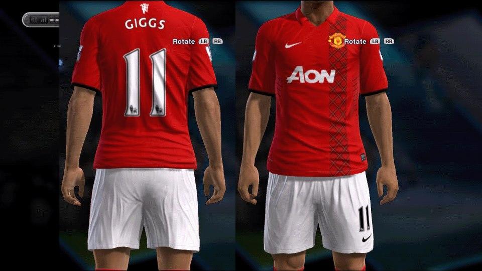 Pes-modif: Download Fantasy Kits Manchester United PES 213