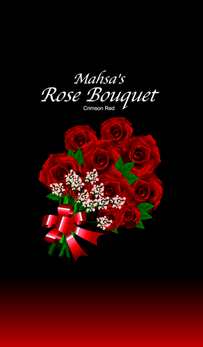 mahsa's Rose Bouquet [Crimson Red]
