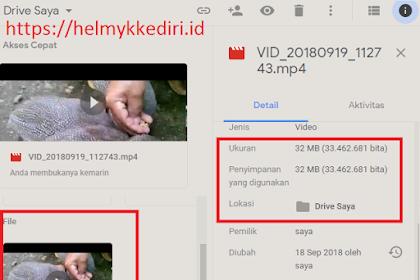 Cara mengecilkan ukuran video secara online
