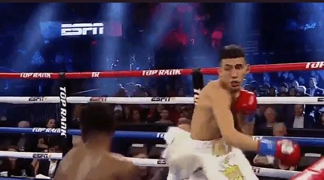John Rincon def. Emanuel Williams, Via KO, lightweights