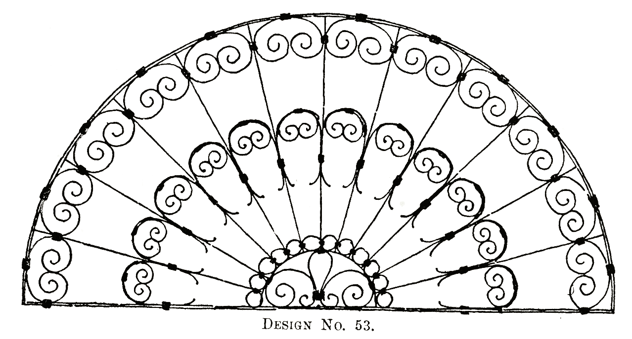 Digital Two for Tuesday: Iron Work Patterns