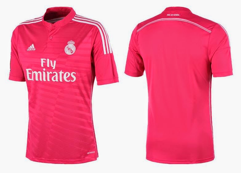Jersey Real madrid away terbaru 2014