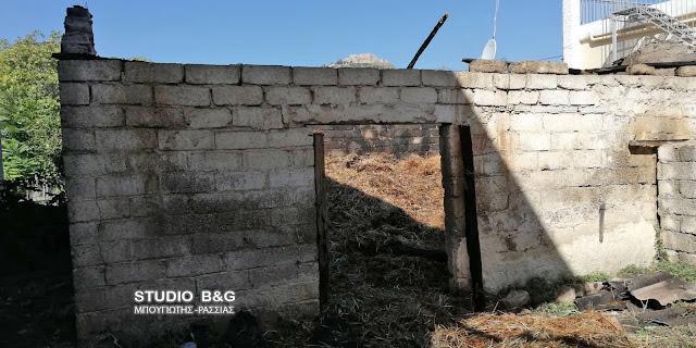 Πυρκαγιά σε αποθήκη τα ξημερώματα στο Άργος