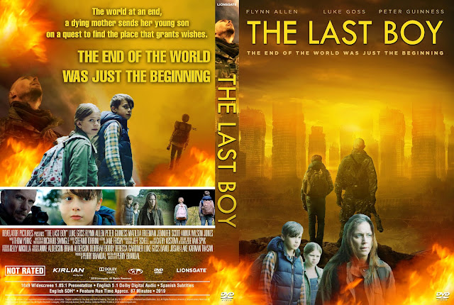 The Last Boy DVD Cover