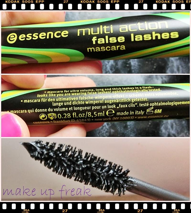 8bbe71b833d ... polubiłam...jest to Essence Multi Action False Lashes Mascara.  Sięgnęłam po niego kierując się opiniami przeczytanymi w Internecie oraz  ceną ok. 10 zł:)