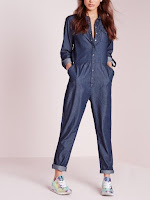 denim, denim jumpsuit, jumpsuit, irisie