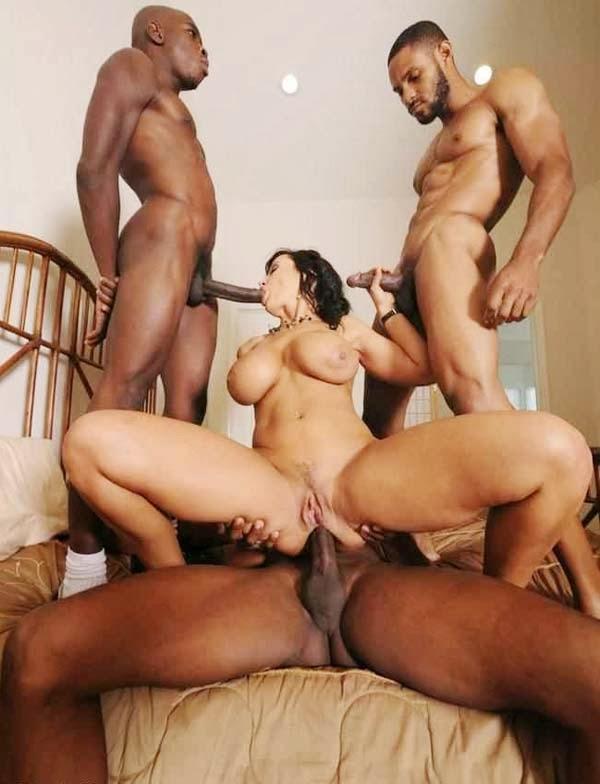 Big Tits Interracial Pornstar