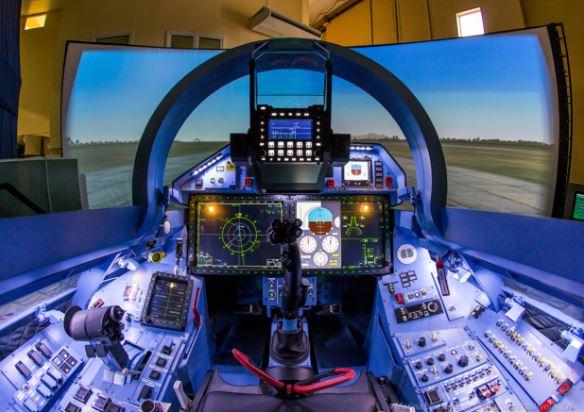 Sukhoi Su-35 cockpit