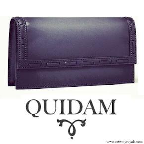 Crown Princess Victoria carried Quidam Clutch