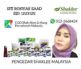 Pengedar Shaklee Di Shah Alam Dan Klang  Selangor