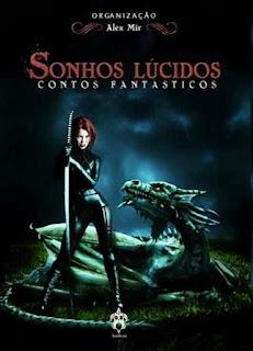 Capa do livro Sonhos Lúcidos, Andross Editora
