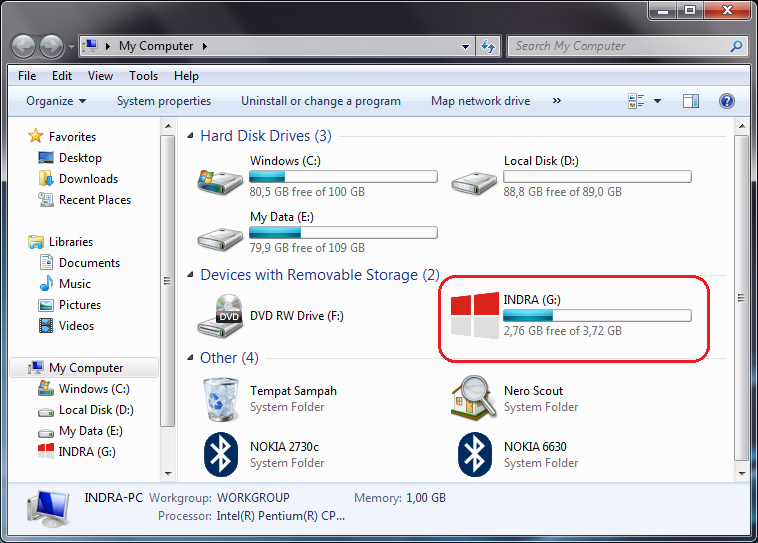 Cara Mengubah Icon Flashdisk di Windows