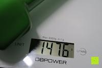 Gewicht: Vinyl-Hanteln »Hexagon« Kurzhanteln in verschiedenen Gewichts- und Farbvarianten ( 0,5kg, 0,75kg, 1kg, 1,5kg, 2kg, 3kg & 4kg )