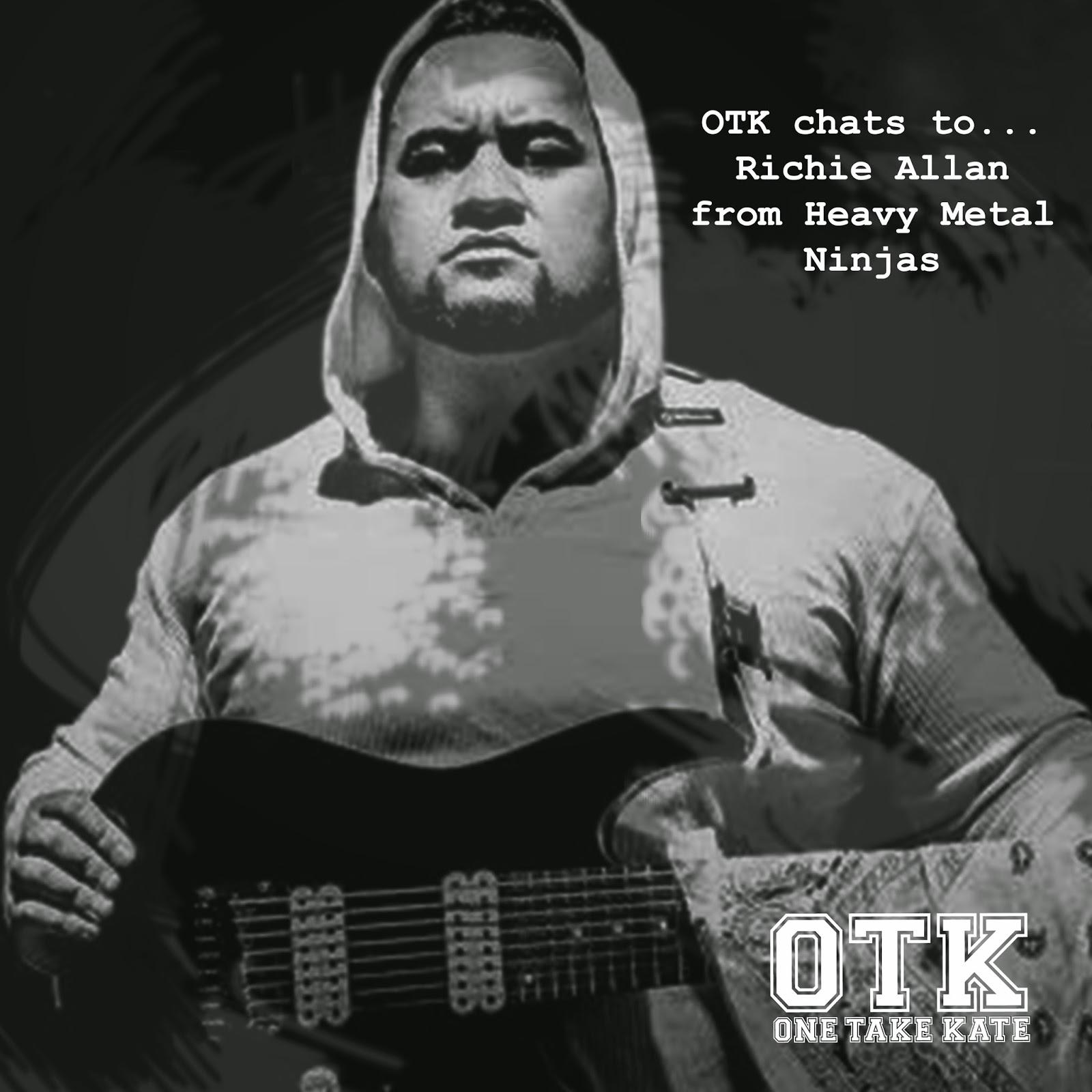 Heavy Metal Ninjas: Richie Allan Interview  - One Take Kate