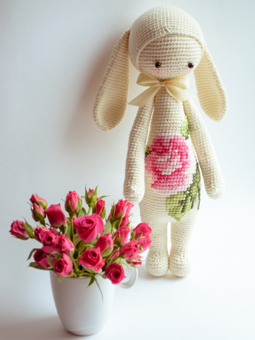 Flower Rabbit - Free Pattern