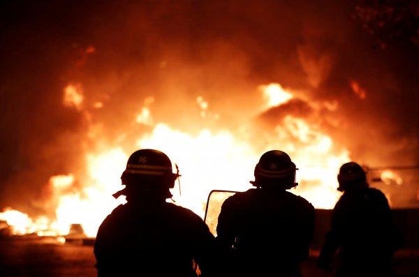 Fransa Olayındaki Yangın