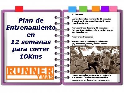 Plan entrenamiento 10 km 45 minutos