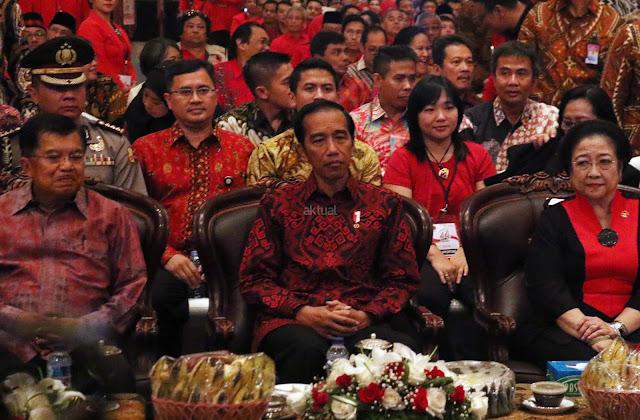 Jokowi Tunggu Gotong Royong PDIP Bangun Indonesia