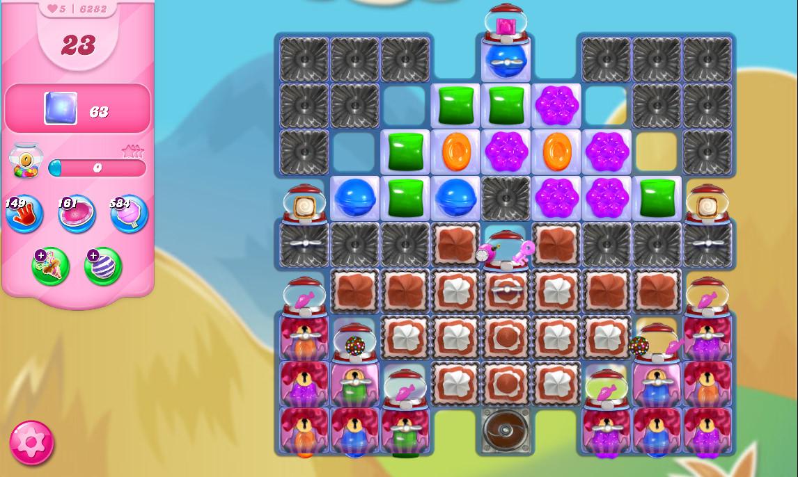Candy Crush Saga level 6282
